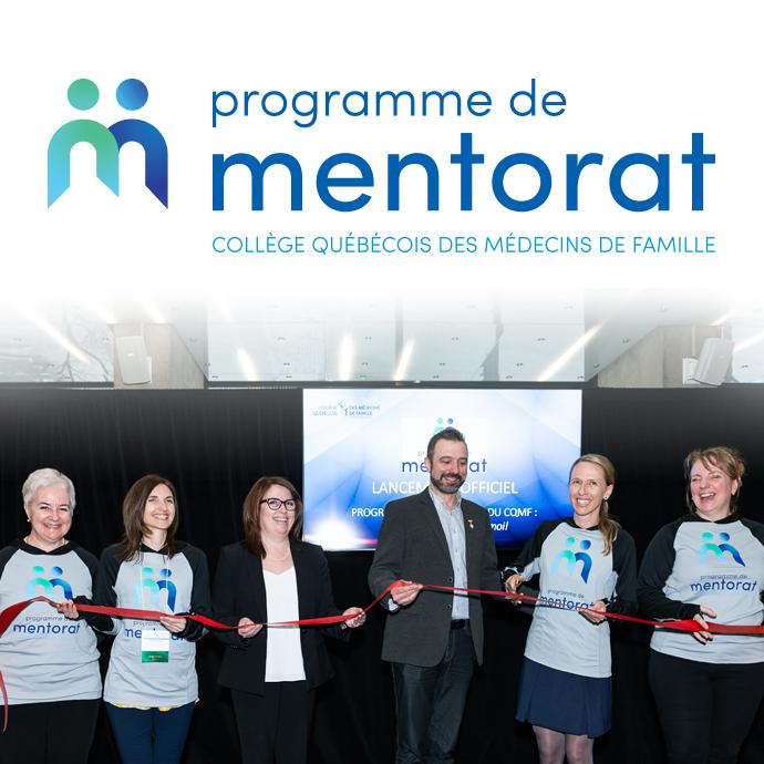 Le CQMF lance officiellement son programme de mentorat